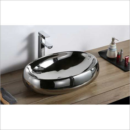 600 x 400 x  135 mm Ceramic Art Wash Basin