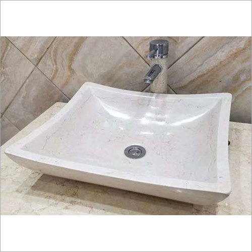 460 x 410 x 120 mm Natural Stone Bathroom Wash Basin