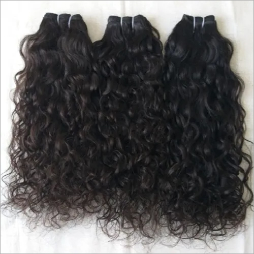 Raw Vintage Curly Human hair,100% Indian curly Unprocessed hair, Temple Donated Indian