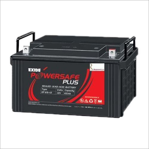 65 Ah Lead Acid Power Battery Capacity: 150Ah T/Hr