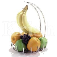 Fruit stand wit banana hanger