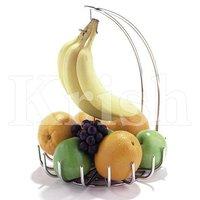 Fruit stand wit banana hanger