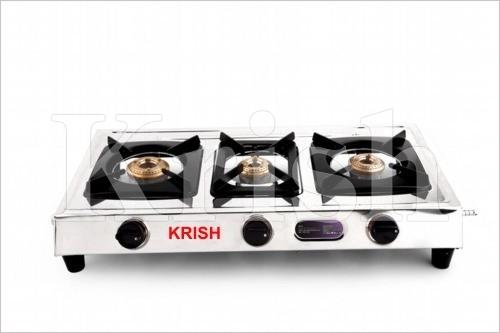 LPG Gas stove - three Burner