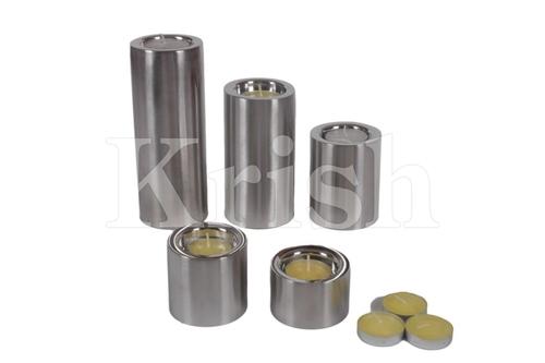 Pillar Style Tea lite Holder- Round
