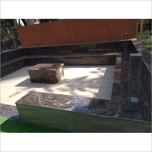 Garden Sitting Granite Bench Job Work Services