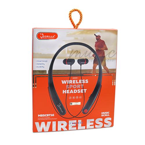 Wireless Stereo Headset- Neckband (016)