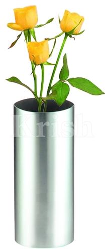 Oval Cylinder Flower Vase
