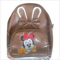Kids Leather Backpack Bag
