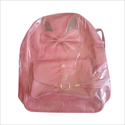 Fancy Leather Backpack Bag