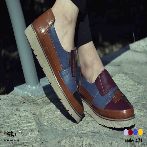 Mens Casual Leather Loafers