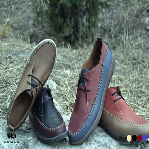 Ladies Leather Lace Up Shoes