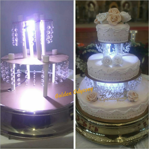 3 Tier Birthday Cake Stand