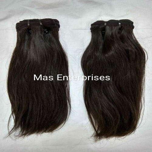 Single Donor Straight Natural   Human Hair Bundle