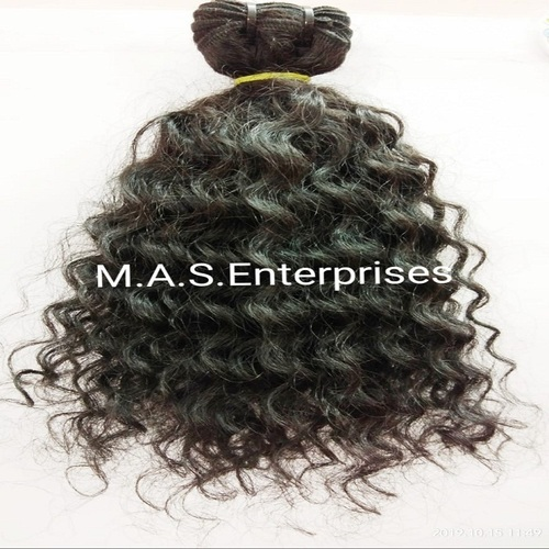 100%Natural Raw Unprocessed Curly  Human Hair