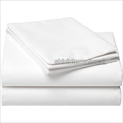 Railway White Bed Sheet