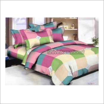 Checkered Duvet Cover Sheet