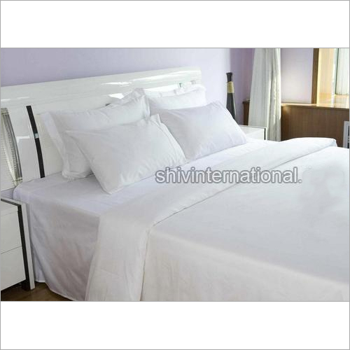 Plain White Duvet Cover Sheet