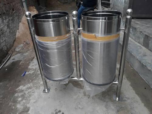 Twin open bin plain