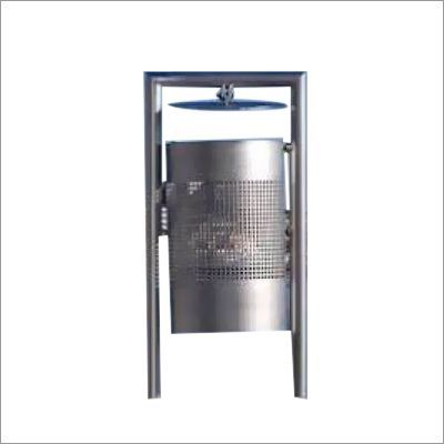 SS Dustbin With Stand