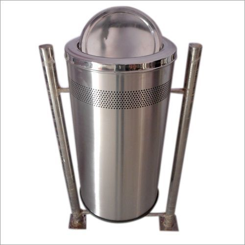 SS Dustbins with Swing