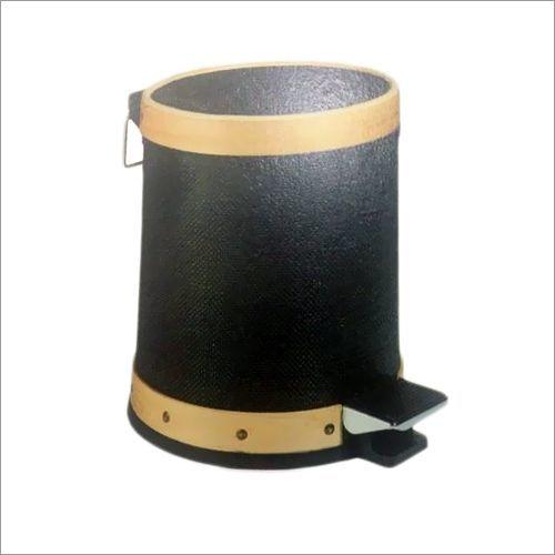 SS Black Pedal Bin