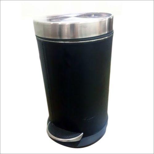 SS Black Pedal Dustbin