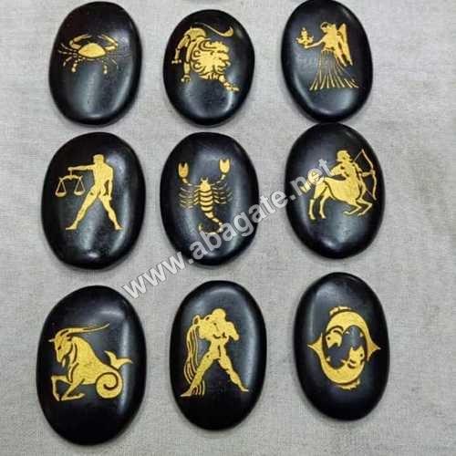 Black Agate Reiki Set