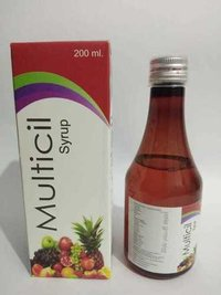 Multivitamin Multiminral And Anti Oxidant Syrup (Multicil Syp)