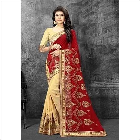 Namastey Fashion Latest Designer Embroidered Party Wear Georgette Saree