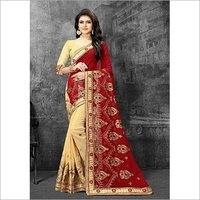 Namastey Fashion Latest Designer Embroidered Party Wear Georgette Saree