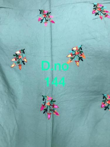 RAYON COTTON 14 KG EMBROIDERY GARMENT FABRICS