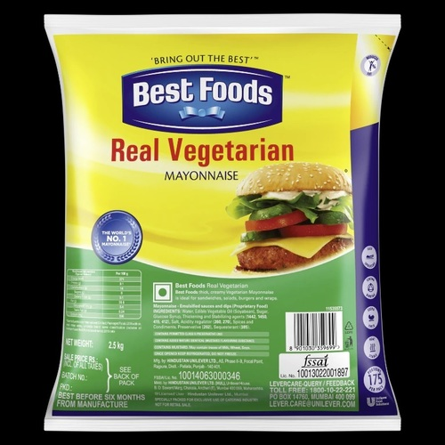 Best Foods Real Veg Mayonnaise