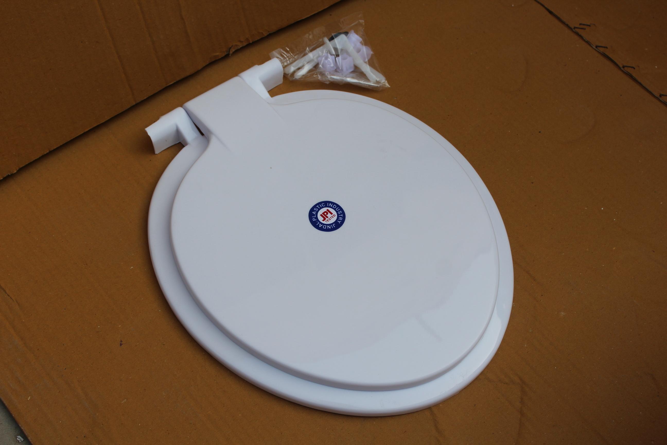 PVC Light Holo Toilet Seat Cover