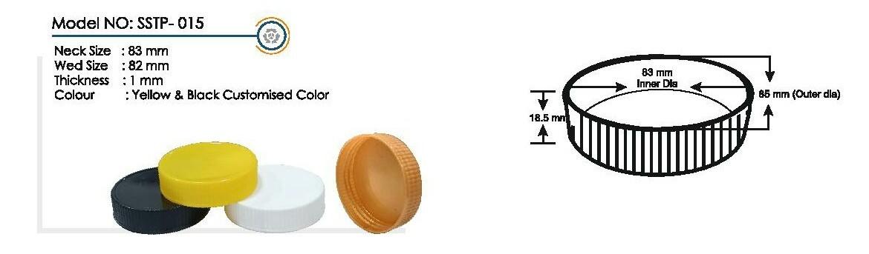 lubricating Plactic Bottle Cap