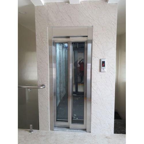 Counter weight passenger lift Glass Door