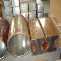 copper mould tube china