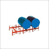 Mild Steel Drum Storage Rack