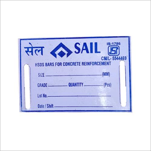 SAIL Signage Aluminium Tag