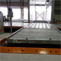 Scissor Lift with weighing scale and Powerised Roller Conveyor