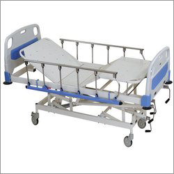 Collapsible Side Railing Hospital Bed