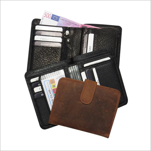 Mens Fancy Leather Wallet