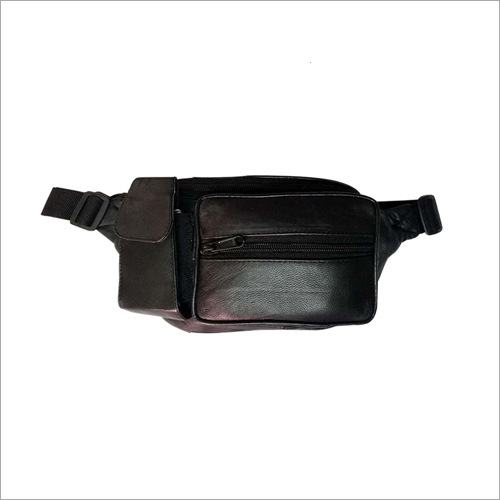 Black Killer Waist Travel Pouch