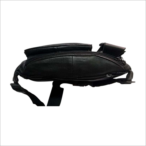 Mens Leather Waist Pouch