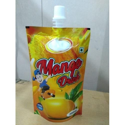Spout Pouch Orange Flavors 200 ML