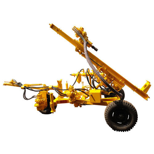 Pneumatic & Hydraulic Deep Rock Wagon Drilling Rig