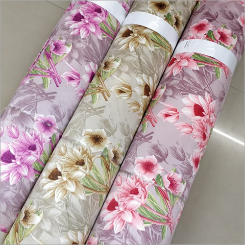 Eyelet Printed Curtain Fabric