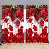 3D Window Curtain