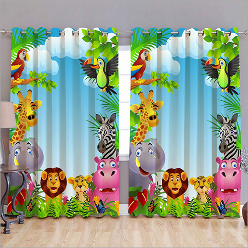 Baby Room Printed Curtain