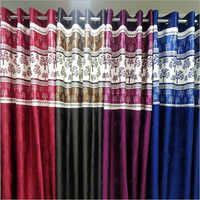 Window Printed Ring Top Curtain