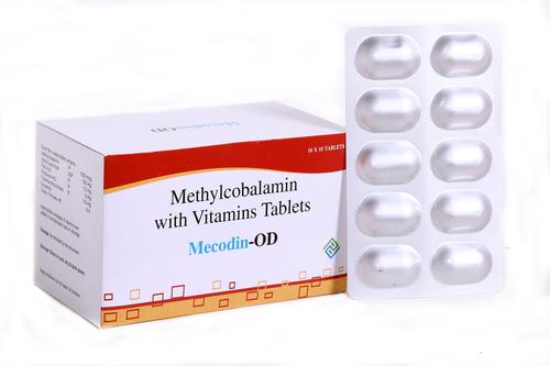 Methylcobalamin - Alpha Lipoic Acid & Folic Acid Capsules